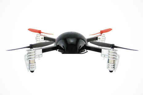 Extreme Fliers - Micro Drone 2.0 Remote Control Flying Quadcopter - Save 44%