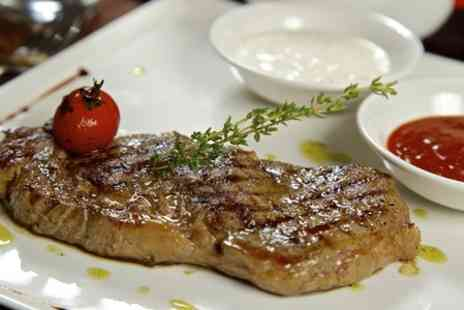 The Snail at Stone Street - Two Course Steak Dinner For Two - Save 59%