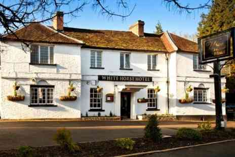 The White Horse Hotel - One Night Stay With 1 Dinner and 1 Bottle of Wine - Save 53%