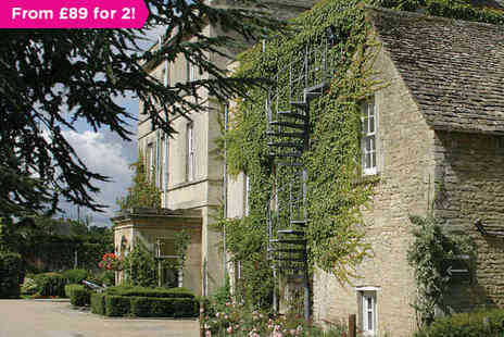 Stratton House Hotel - One Night Stay for Two with Daily Full English Breakfast - Save 32%