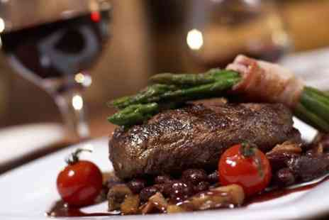 Fulton's on the Green  - Braised Feather Blade Steak With Red Wine For Two - Save 53%