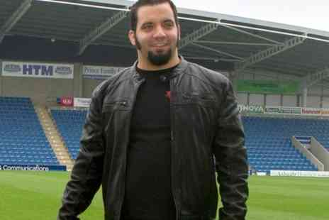 Chesterfield Football Club - Meet and Greet With Storage Hunter Jesse McClure Plus Hot Buffet For Two  - Save 50%