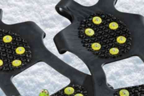 Gecko Grips - Set of Ice Grips for shoes or boots - Save 70%