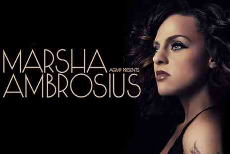 AGMP - Ticket  to Marsha Ambrosius Live - Save 32%