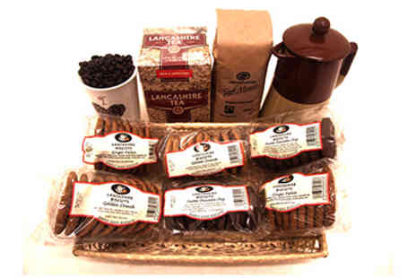 Stock Nation - Small Lancashire Biscuit Hamper - Save 65%