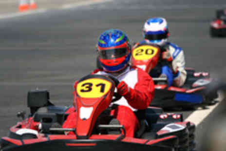 Drive Tech - 30 Minute Go Karting Experience  - Save 50%