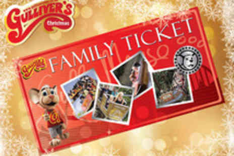 Gullivers Theme Park - Family Ticket to Gullivers Theme Park  - Save 38%