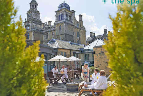 The Spa at Thoresby Hall - Spa Day Package for Two  with Spa Access,  Towel, Robe, and Slipper Hire, and Two Course Lunch  - Save 69%
