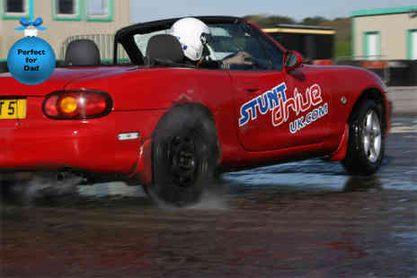 Stunt Drive UK - Two hour stunt driving experience at a choice of 4 UK locations  - Save 60%