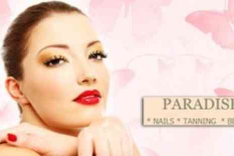 Tanning and Beauty - Laurens Way Spray Tan or With OPI Gel Manicure at Paradise Nails - Save 60%