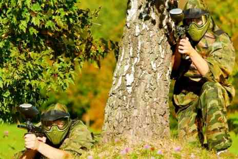 Hamburger Hill - Paintball With 50 Balls  - Save 85%