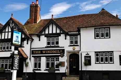 The Windmill - Three Course Meal for 2  - Save 46%