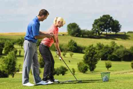 Carl Yates at Brandhall Golf Course - Golf Lesson With Video Analysis  - Save 44%