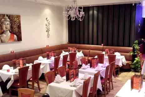 TEZA Indian Restaurant -  Two Courses With Rice and Naan For Two  - Save 53%