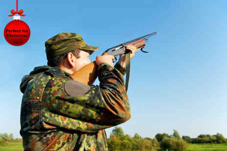 Kelly Country Sports - Clay pigeon taster experience for Two including a picnic  - Save 51%