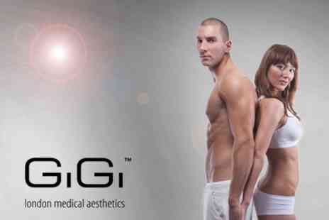 GiGi London Medical Aesthetics - A Slimmer Silhouette and Revitalised, Firmer Skin with Five Indiba Treatments - Save 63%