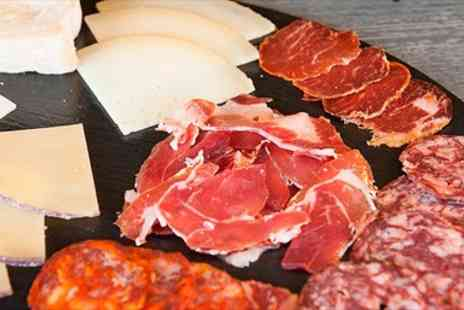 Zoritas Kitchen - Spanish Platter with Bottle of Wine for Two - Save 56%
