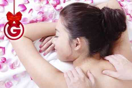 Butterflies Nails & Beauty - Back Massage and Mini Facial or Full Body Massage  - Save 69%