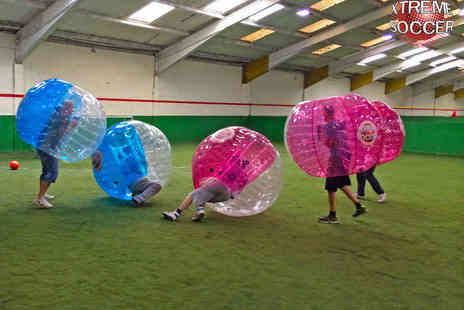Xtreme Soccer - Zorb Football Experience for 15  - Save 65%