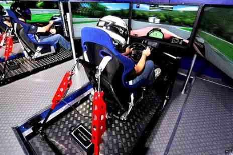 Bodyflight Bedford - Race Driving Simulator Experience For Three - Save 30%