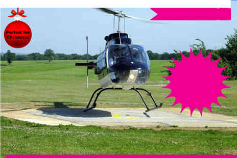 Whizzard Helicopters - Grand National helicopter buzz flight  - Save 49%
