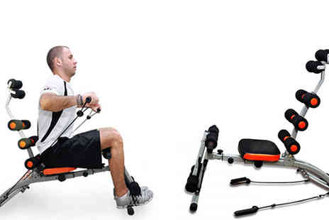 Delizius Deluxe - Six Pack Care Exercise Bench - Save 36%