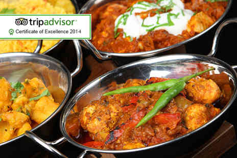 Mister Singhs India - Seven dish taster menu for 2 including a rice each  - Save 62%