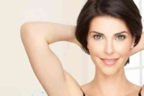 Aura Health & Therapy  - Six Sessions of IPL Hair Removal on One Large or Two Small Areas - Save 90%