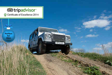 Experience The Country - Off road 4x4 driving experience for Two - Save 55%