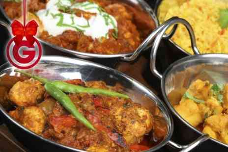 The Raj - Two Course Indian Meal For Two - Save 54%