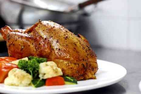 The Manor Hotel  - Two Course Sunday Lunch For Two With Bubbly  - Save 0%