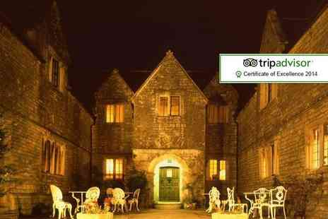 Mortons House Hotel - One night Dorset stay for Two including a glass of wine, breakfast and late checkout - Save 52%