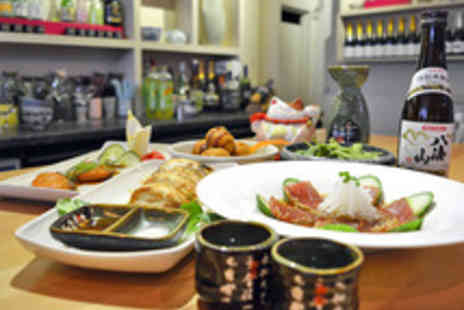 Noa Japanese Restaurant - Japanese Dining Experience with a Cocktail Each for Two - Save 49%