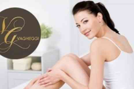 Vagheggi Academy - Thread Vein Treatment on Choice of Four Areas - Save 80%