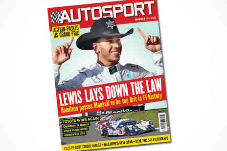Autosport  - Four Month Autosport Magazine Subscription, Delivery Included - Save 64%
