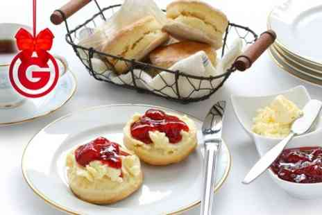 Cafe Nucleus - Cream Tea For Two  With Bubbly - Save 50%