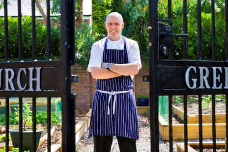 The Church Green - Five Course Tasting Menu from Award Winning Chef Aiden Byrne for One - Save 0%