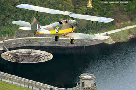 Blue Eye Aviation - World War II Aircraft Flight Experience for One with Glass of Bubbly, Pilot Uniform Hire, Framed Photo Souvenir, and Certificate - Save 54%