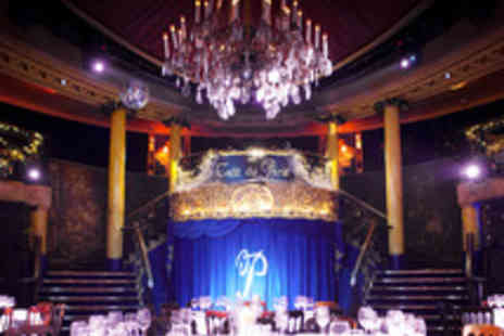 Café de Paris - Cabaret Night with a Two Course Meal and a Cocktail - Save 41%