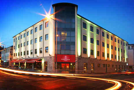 Station House Hotel - One Night Letterkenny Hotel Break for Two with Breakfast, Tea or Coffee and Muffin on Arrival, and Wine If Dining - Save 41%