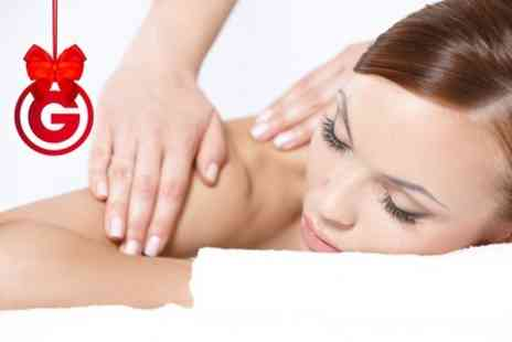 Escape - Facial With Back, Neck and Shoulder Massage  - Save 64%