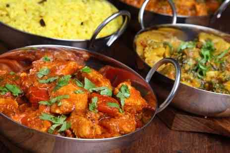Shampan Indian - Two Course Indian Meal With Rice and Beer For Two  - Save 52%