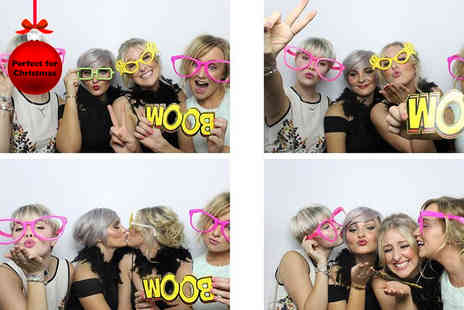 Photobooth Express - Four hours of photo booth hire including unlimited prints  - Save 38%
