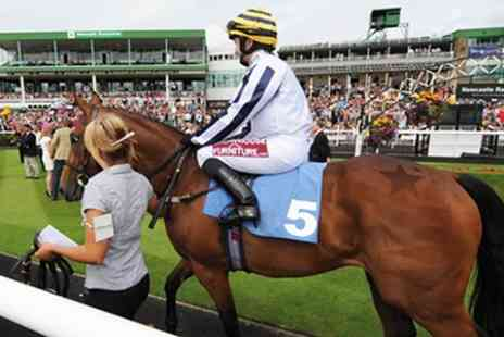 Newcastle Racecourse -  Two Tickets to Horse Racing plus Race Card  - Save 58%