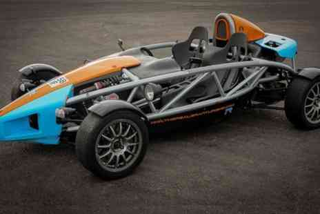 The Real Gran Turismo - Two Lap Passenger Ride in Ariel Atom or Ten Lap Driving Experience  - Save 63%