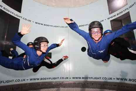 Bodyflight Bedford - Indoor Skydiving Experience including 2 Flights, Save 32% - Save 32%