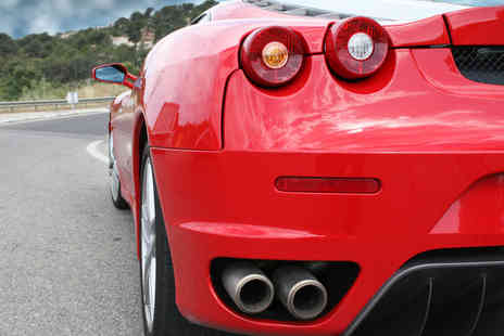 Golden Moments - On Road Thrilling Ferrari 360 F1 Driving Experience - Save 64%