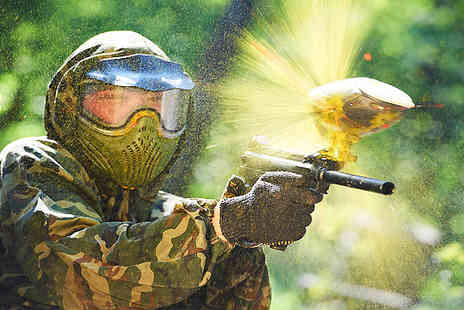 Nationwide Paintballing - Paintballing Day - Save 93%