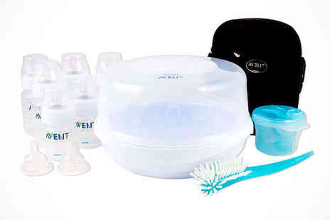 Phillips Avent Bottle  - Phillips Avent Bottle Feeding Essentials Set, Delivery Included - Save 0%