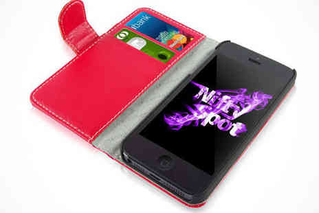 Nifty Spot - iPhone Wallet Case in a Choice of Colour - Save 84%